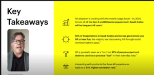 Augmented Reality for Marketing Report Deloitte Snapchat 2021