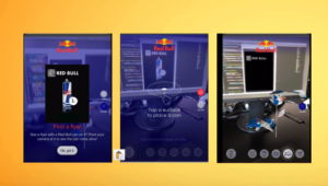 Red Bull Augmented Reality Packaging